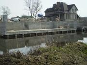 Укрепление берегов бетоном - foto 2