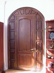 двери и лестничные марши из натурального дерева. - foto 4